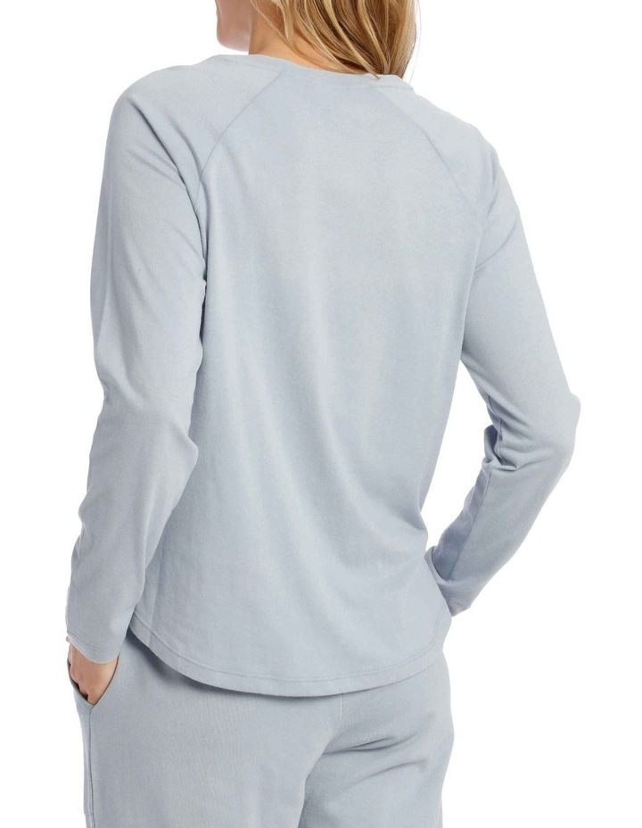 Cotton Rich Long Sleeve Raglan Tee image 2