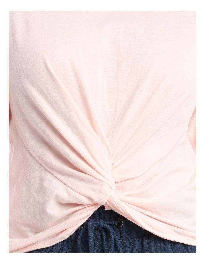 Cotton Rich Long-Sleeve Twist T-Shirt image 3