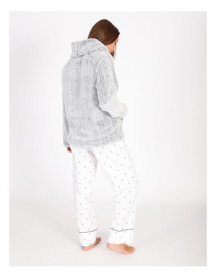 Textured Fleece Roll Neck Pullover image 2