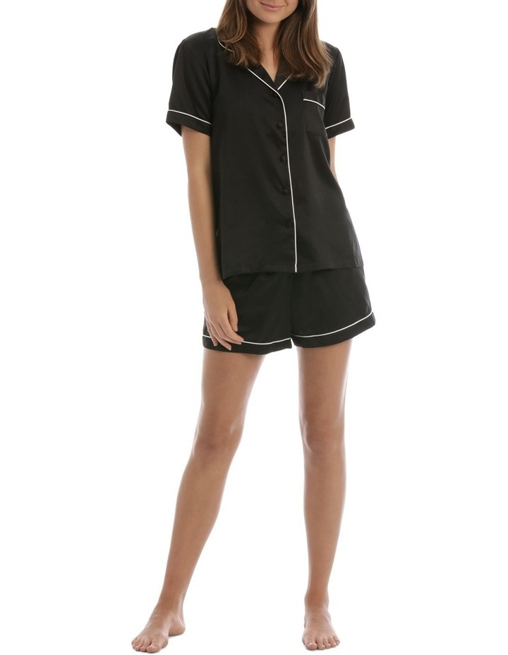 Satin Basics Short Sleeve PJ Set image 1