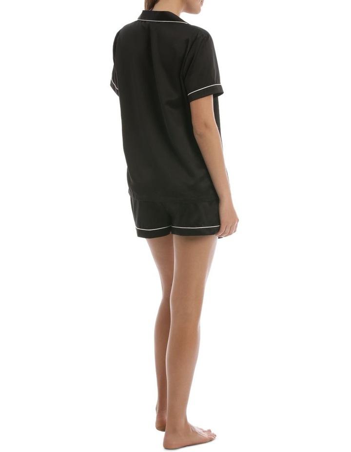 Satin Basics Short Sleeve PJ Set image 2