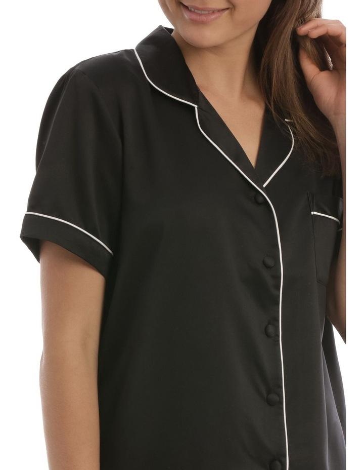 Satin Basics Short Sleeve PJ Set image 3