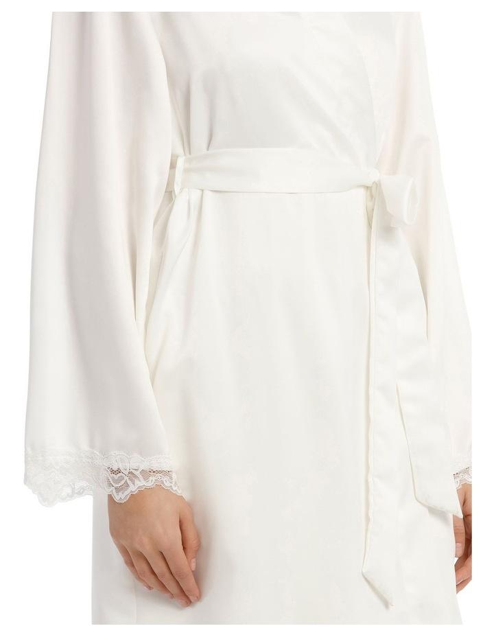 Satin Basics Long Robe image 3