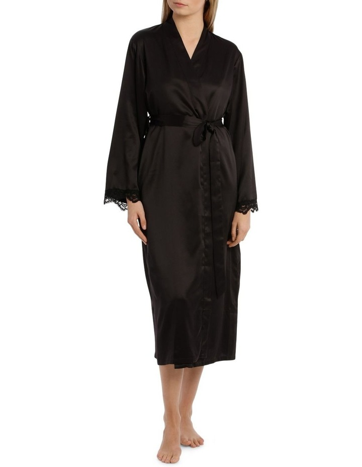 Satin Basics Long Robe image 1