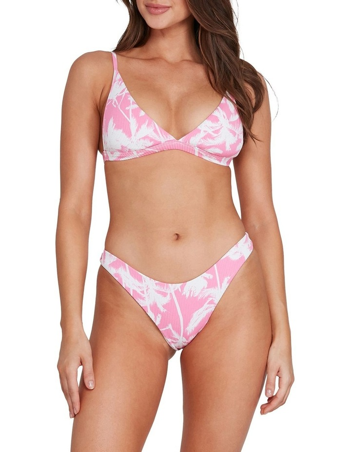 Pretty Palms Hi Point Tri Bikini Top image 1