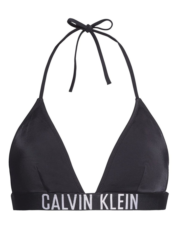 Intense Power Fixed Triangle Bikini Top Black image 5