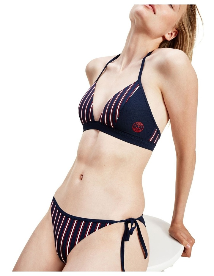 Swim Stripes Fixed Triangle Top image 3