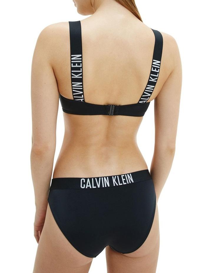 Intense Power Bandeau Bikini Top Black image 2