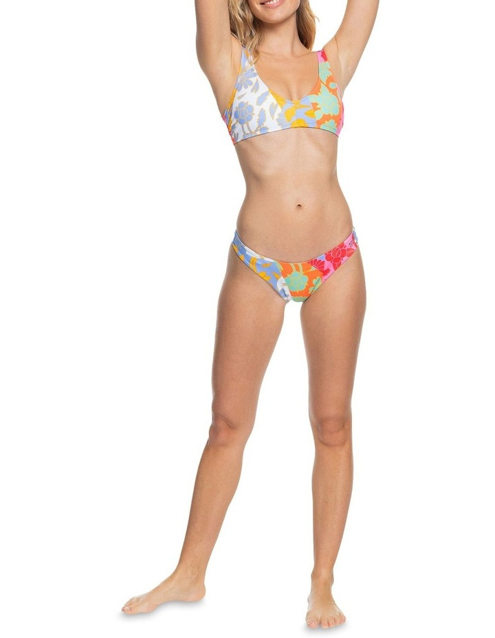 Rowley X Roxy Cheeky Hi Leg Separate Bottom White image 1