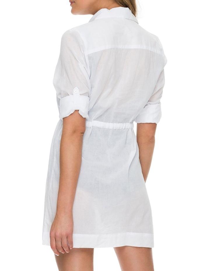 Resort Drawstring Shirt DreShort Sleeve image 2
