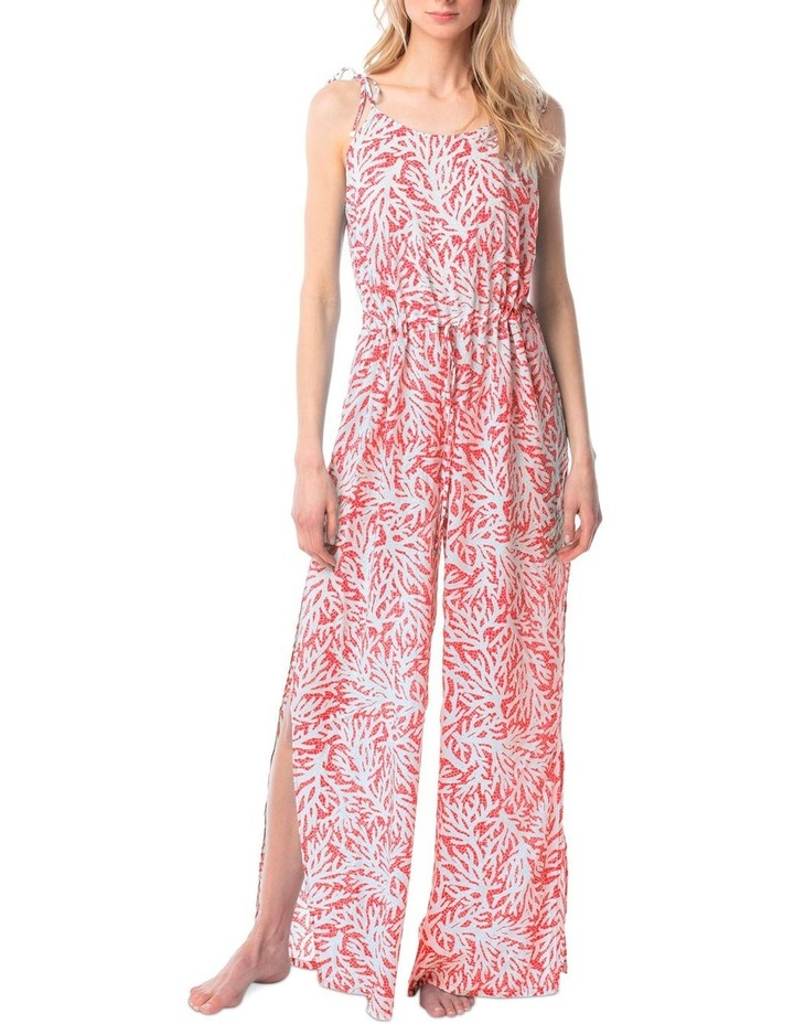 Jumpsuit Cover Up - Coral Mosaic image 1