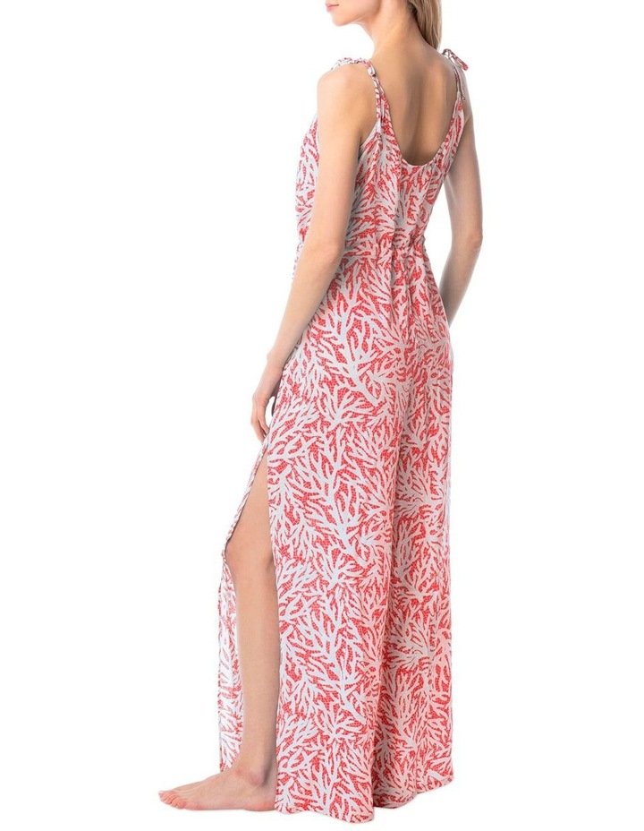 Jumpsuit Cover Up - Coral Mosaic image 2
