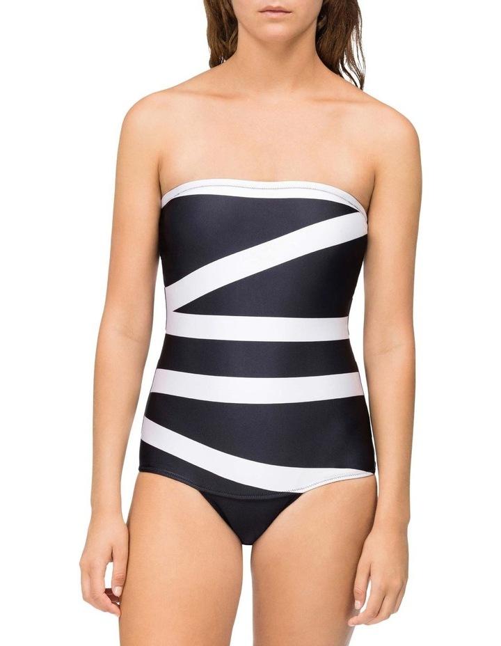 Swim Core Abstract-S Swim Kw00670_000 One Piece Swimwear Kw00670_000 image 1