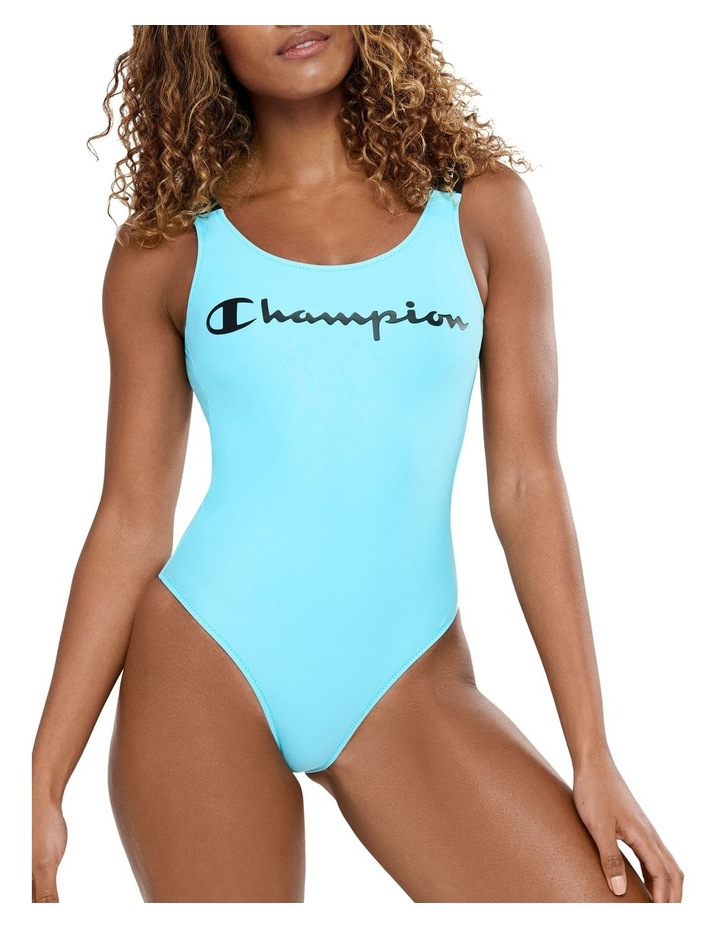 Rochester Script Swimming Suit One Piece Swimwear image 1