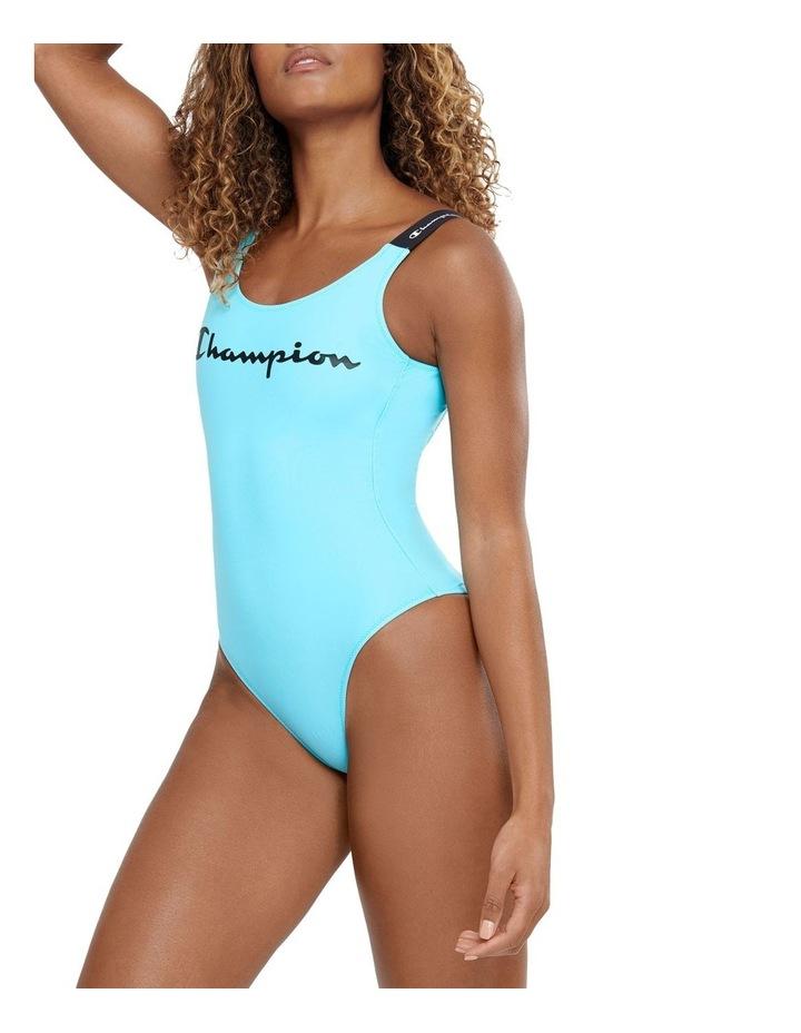 Rochester Script Swimming Suit One Piece Swimwear image 2