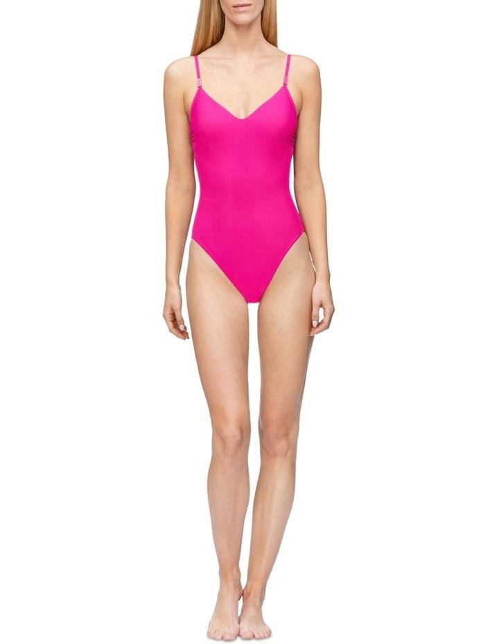 Calvin Klein Swim Core Solids-S One Piece KW00281_VCN image 1