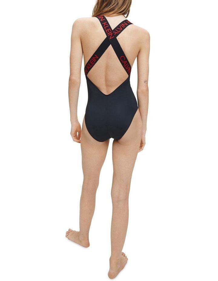 Calvin Klein Swim CK Curve Zip Front One Piece KW01000 image 3