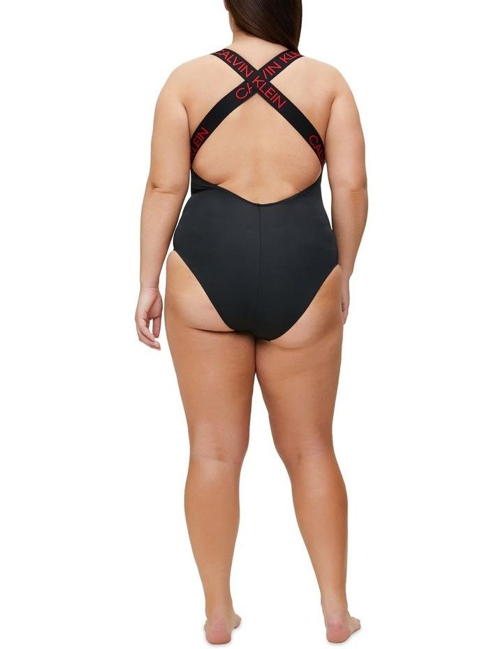 Calvin Klein Swim CK Curve Zip Front One Piece KW01000 image 6