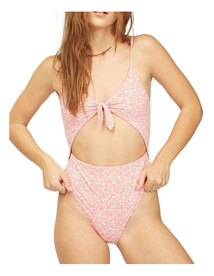 Lil Sweet One Vintage One Piece Swimsuit Red image 1