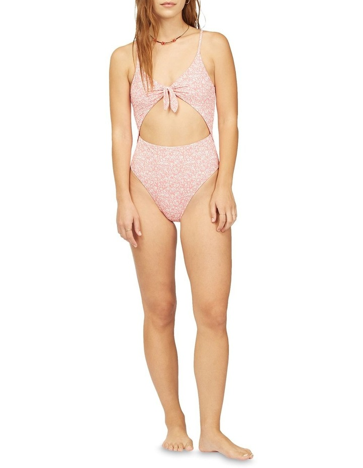 Lil Sweet One Vintage One Piece Swimsuit Red image 4