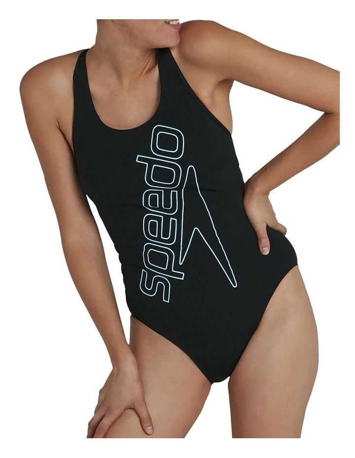 Womens Boom Logo Placement Flyback One Piece image 1