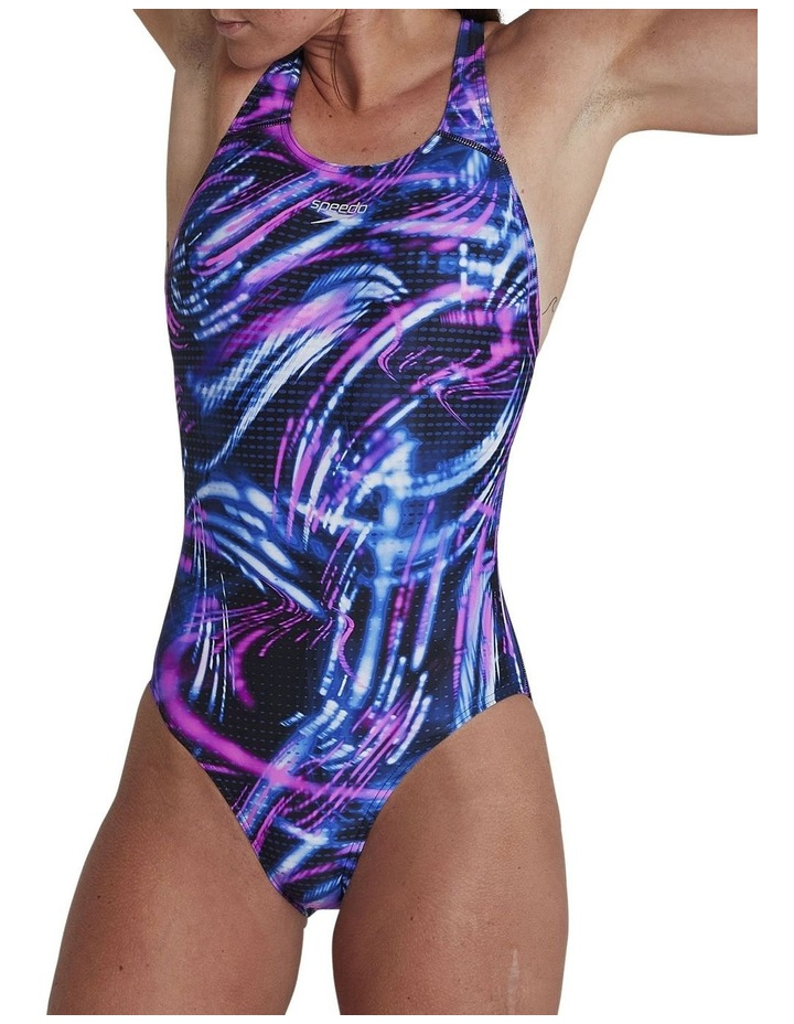 Womens Allover Powerback One Piece image 1