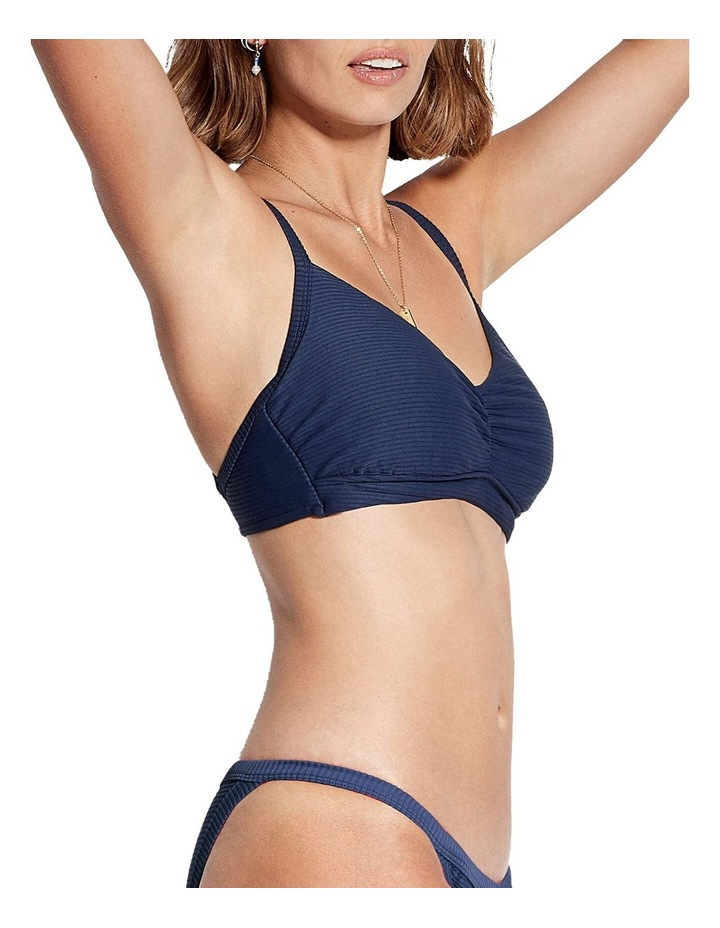 Quilted DD Cup Bralette Bikini Top image 2