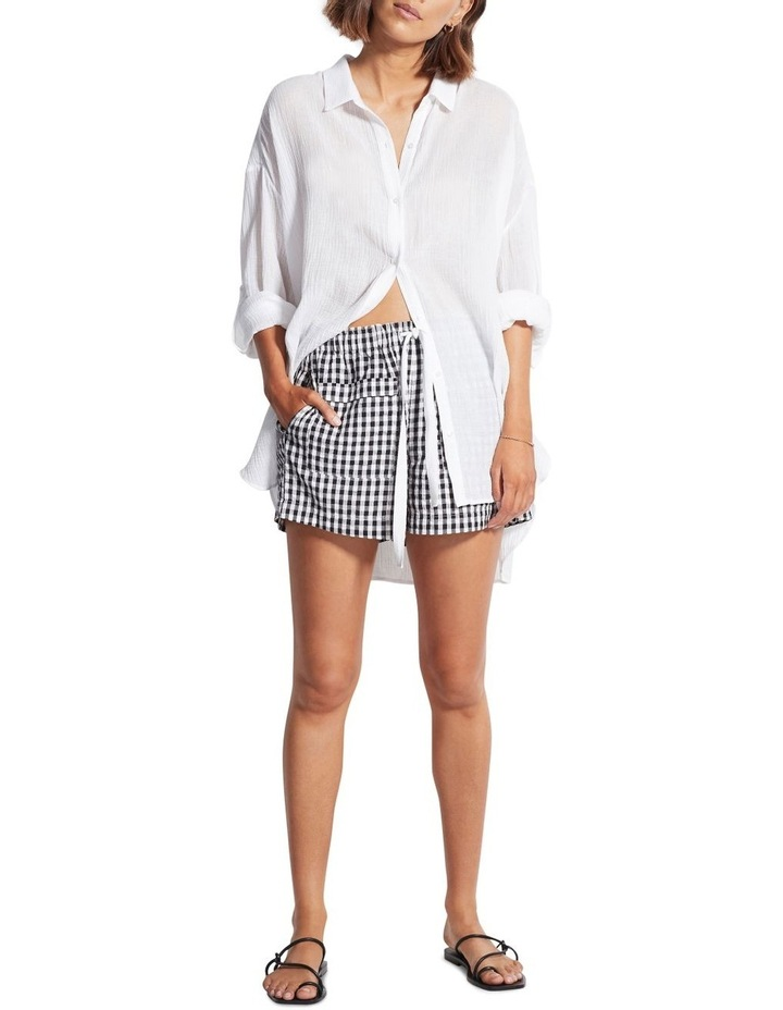 Check In Gingham Shorts 54284-SH image 1