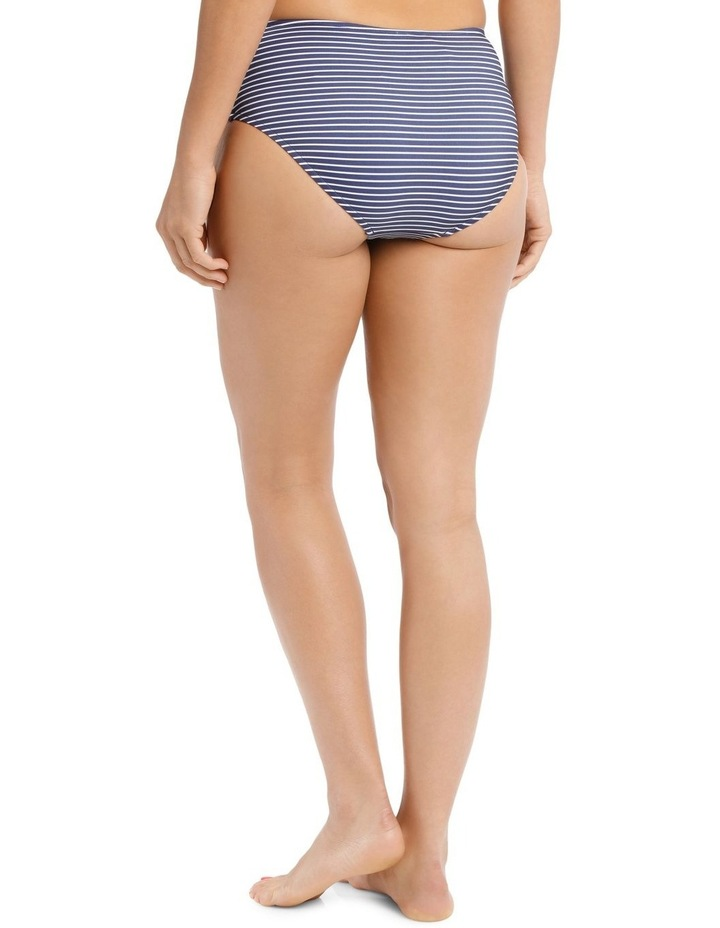 Breton Stripe Wide Side Retro Bikini Pant image 2