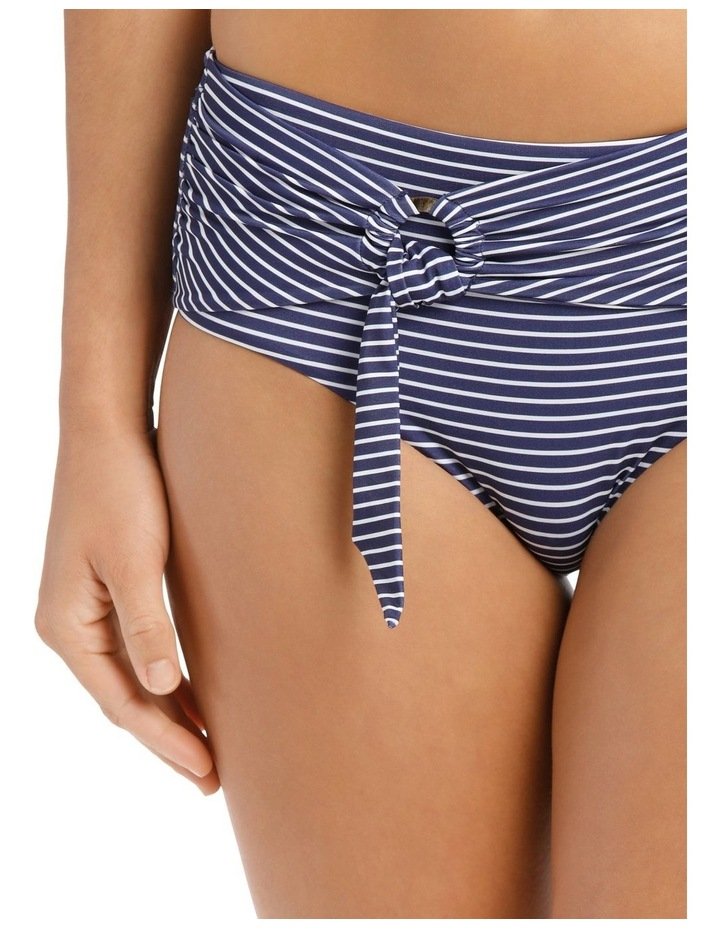 Breton Stripe Wide Side Retro Bikini Pant image 3