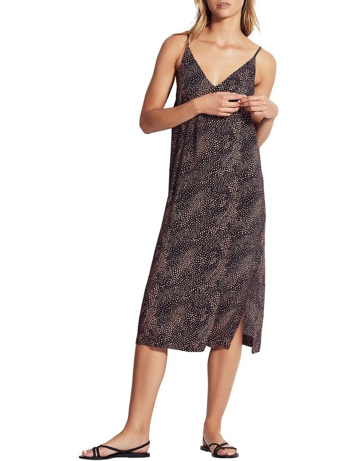 Safari Spot Slip Dress image 1