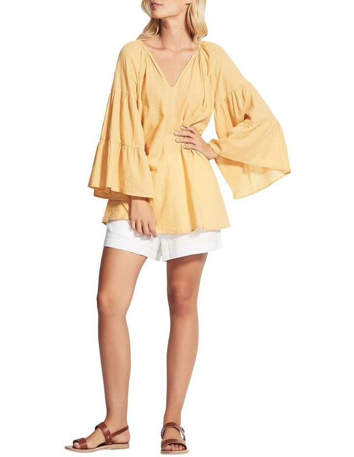 Beach Edit Tiered Sleeve Cover Up image 1