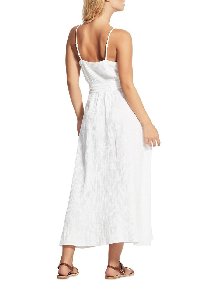 Beach Edit Double Cloth Wrap Dress image 3
