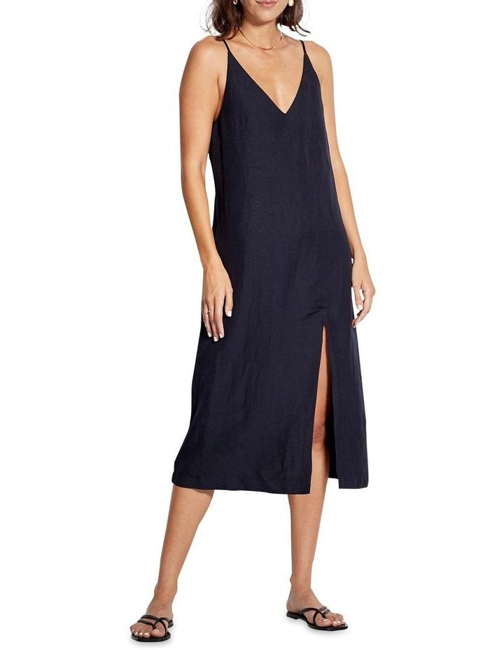 Beach Edit Linen Blend Slip Dress 53841-DR image 1