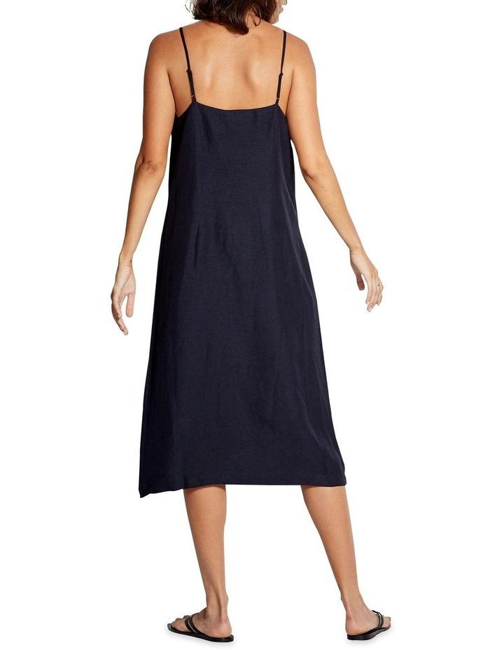Beach Edit Linen Blend Slip Dress 53841-DR image 2