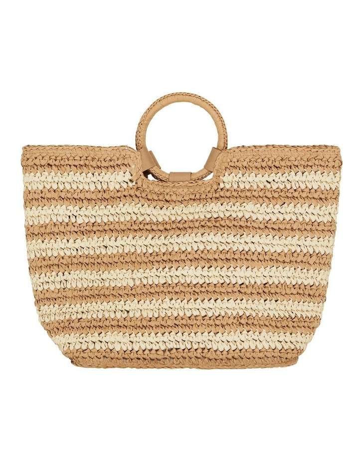Stripe Beach Bag  71692-BG image 1