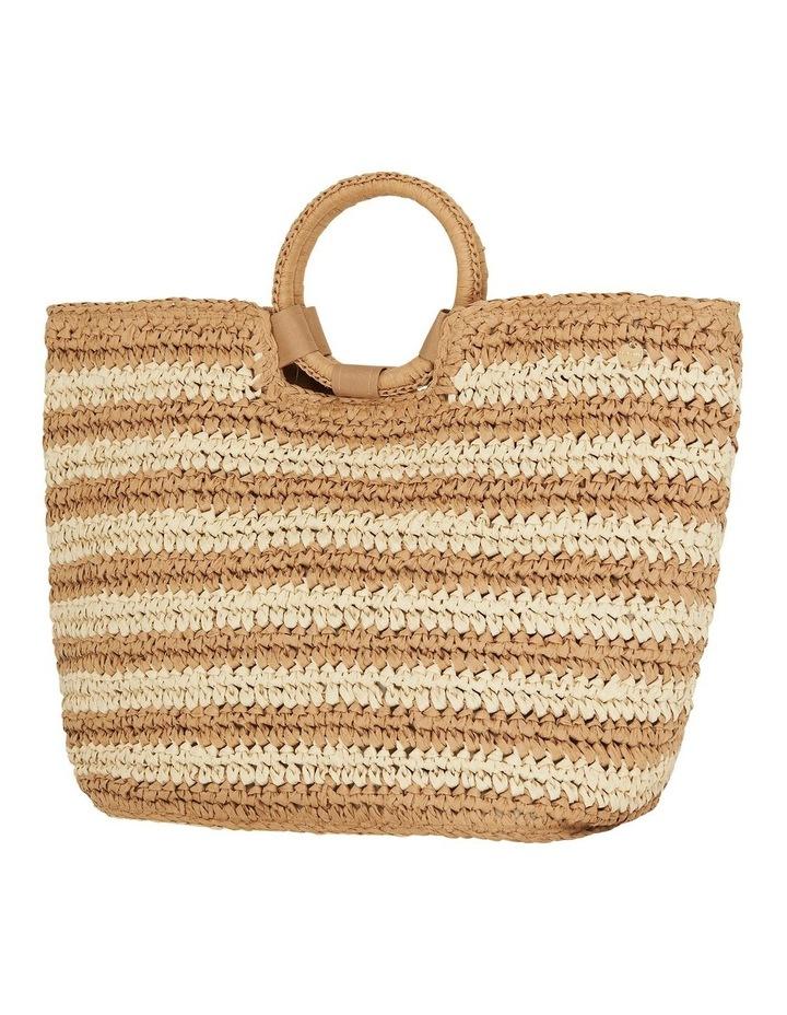 Stripe Beach Bag  71692-BG image 2