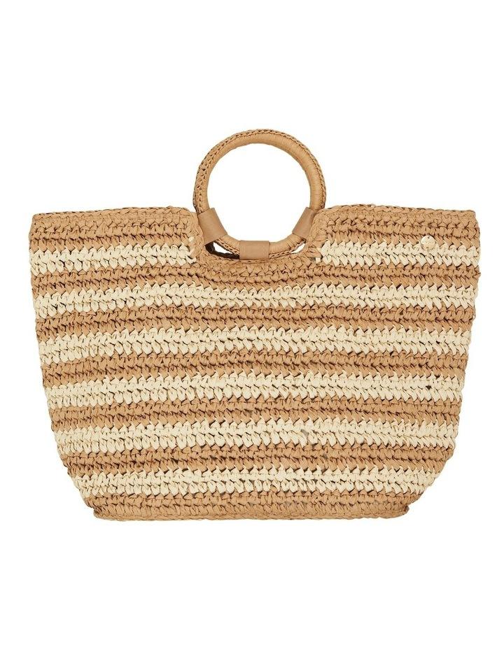 Stripe Beach Bag  71692-BG image 3