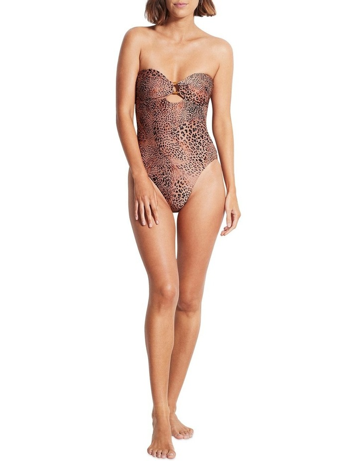 Seafolly Wild Ones Ring Front One Piece image 2
