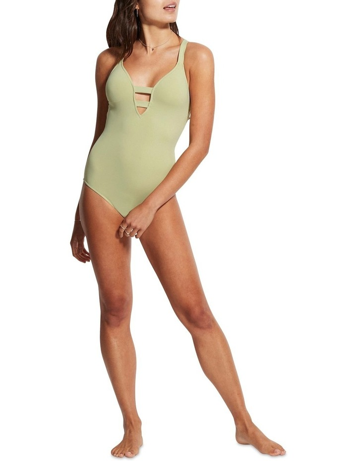 Active Deep V Maillot One Piece image 1