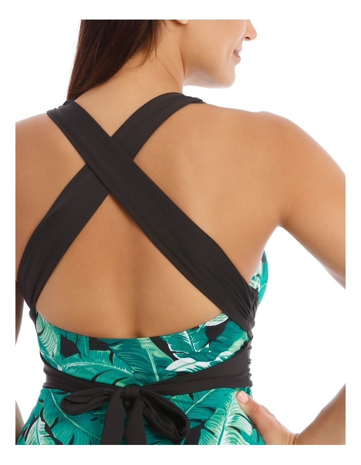 Tankini with Wrap Detail image 3