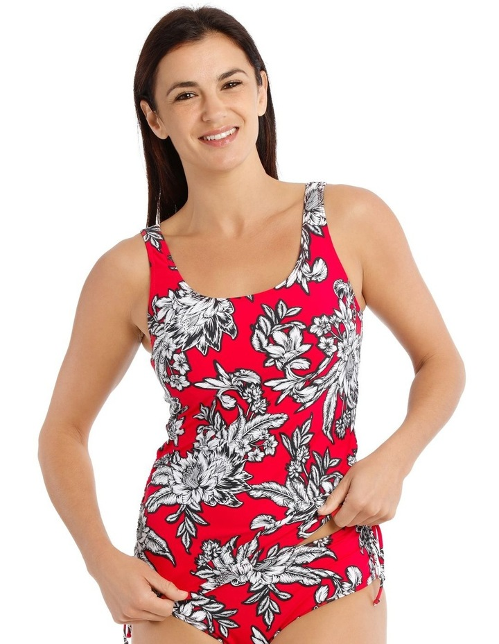 Tankini Rouched Side Print image 1