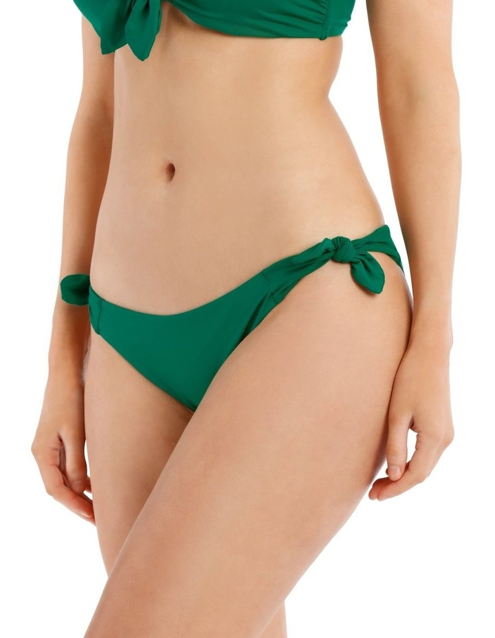 Emerald Oasis Swim Bottom with Tie Sides image 1