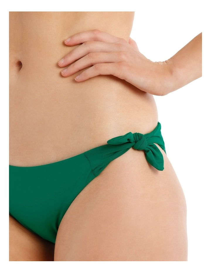 Emerald Oasis Swim Bottom with Tie Sides image 3