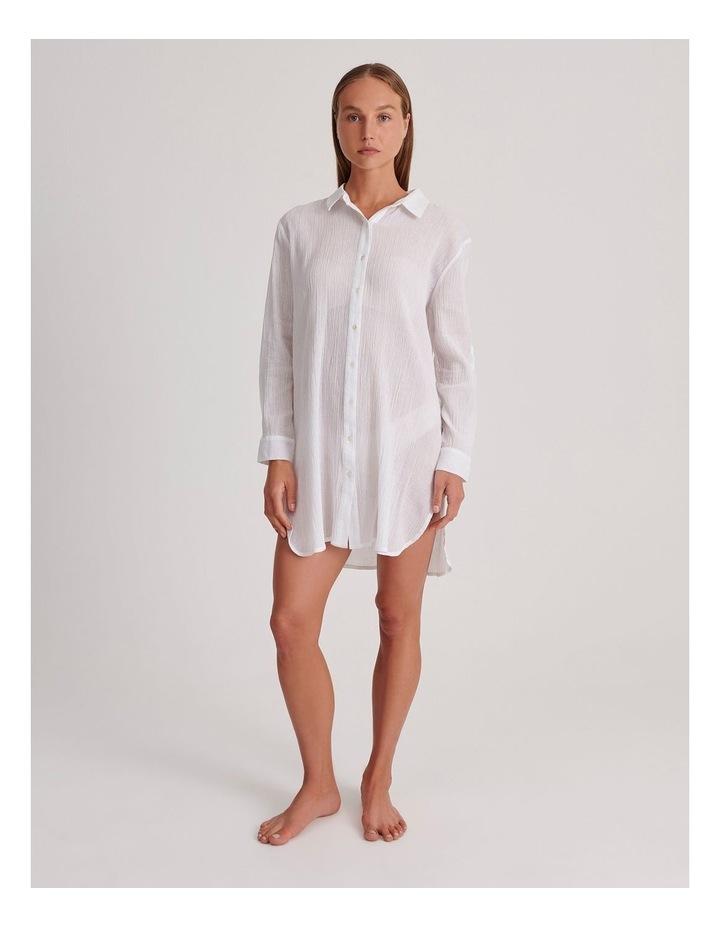 Button Up Shirt Dress image 1