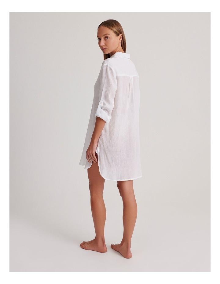 Button Up Shirt Dress image 2