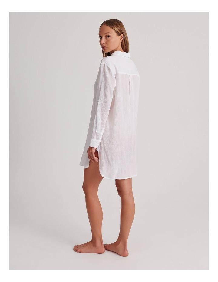 Button Up Shirt Dress image 3