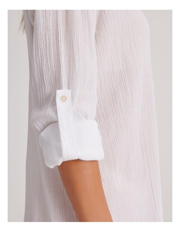 Button Up Shirt Dress image 4