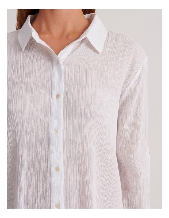 Button Up Shirt Dress image 5