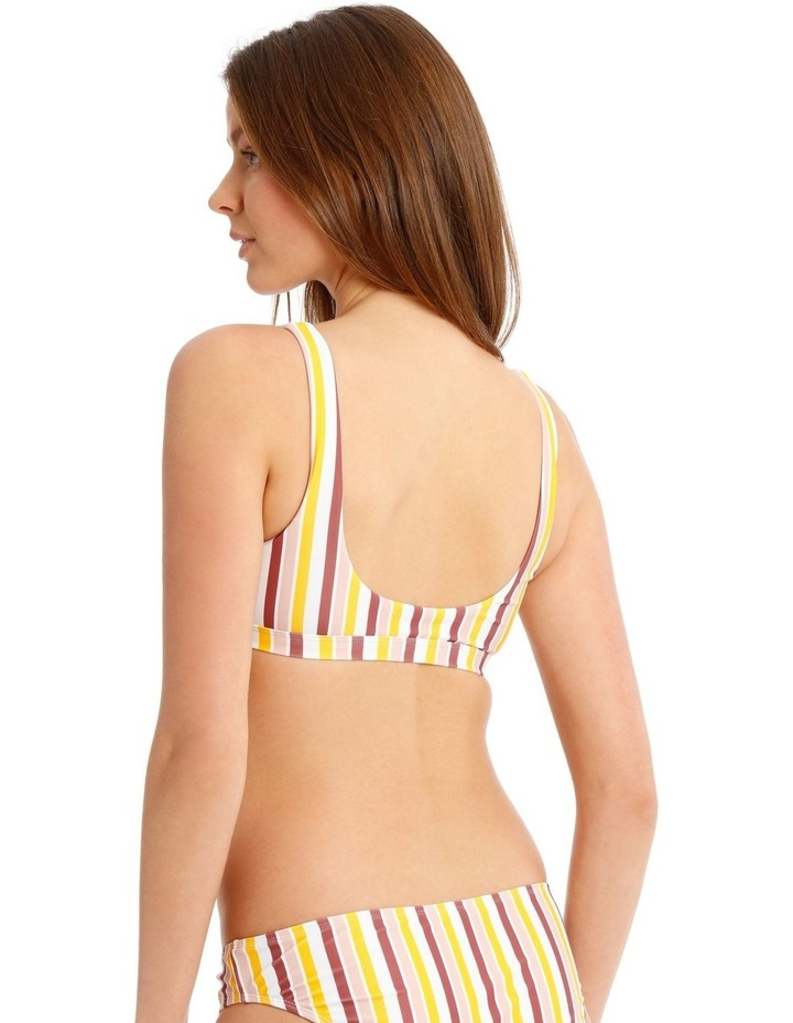 Striped Swim Top image 2